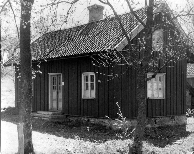 Bild 0140 Kopparslagare Eskilssons hus och smedja omk. 1940-talet