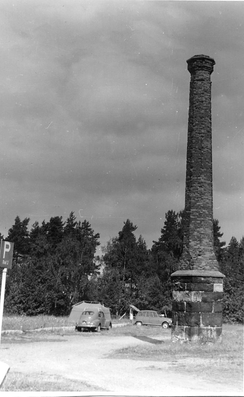 Ruin från stenhuggeriet Hellekis hamn, ruin från stenindustrin