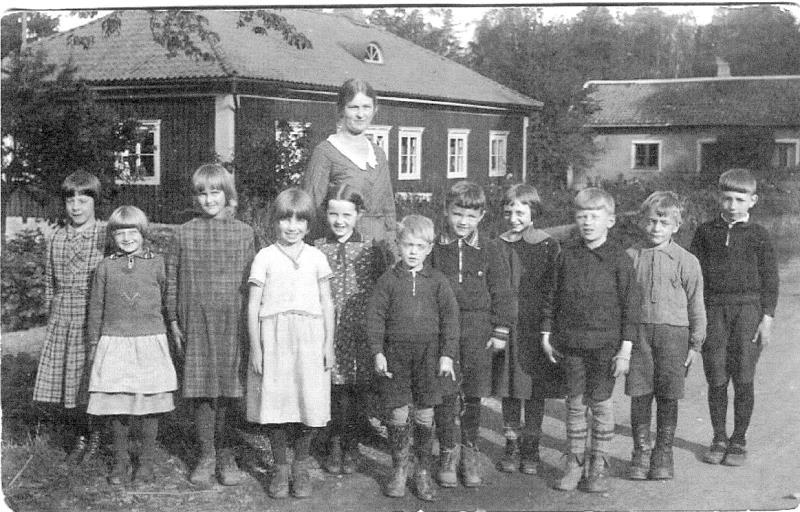 Bild 0569 Possiska Lancasterskolan Hellekis, foto:1933