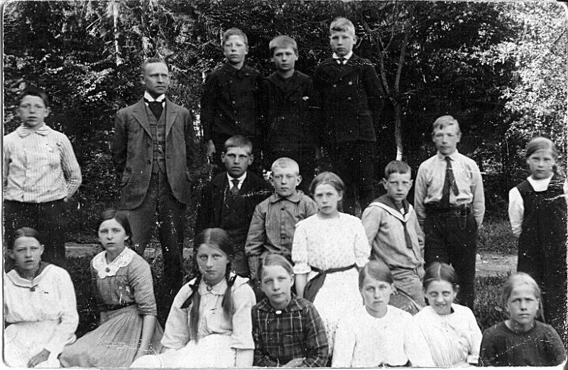Bild 0581 Possiska Lancasterskolan Hellekis, foto:1920