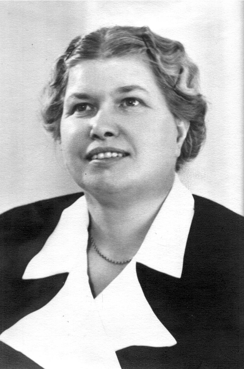 Bild 3478 Majna Bergström, lärare i Västerplana 1917-1955