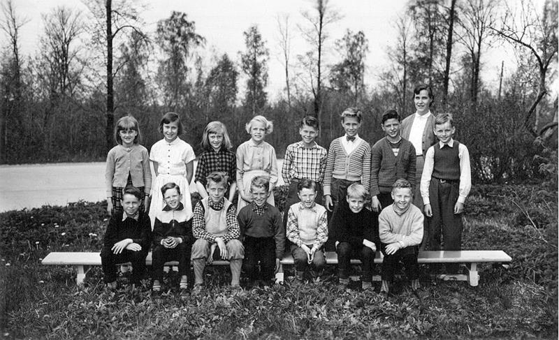 Bild 3590 Possiska Lancasterskolan Hellekis, foto:1955