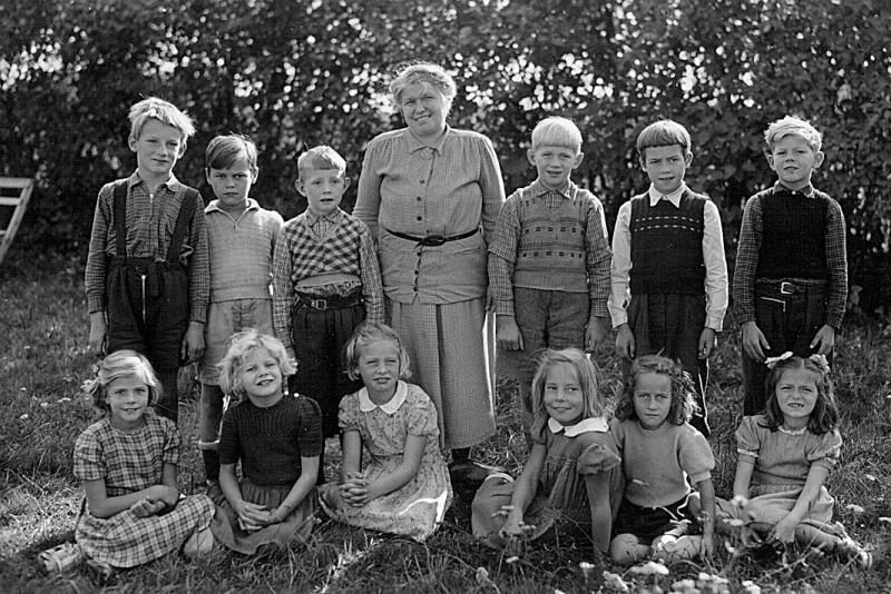 Bild 3611 Annexet - Småskolan Västerplana. 1950-talet