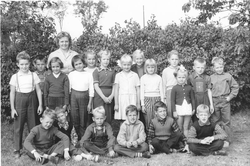 Bild 3649 Annexet - Småskolan Västerplana 1959