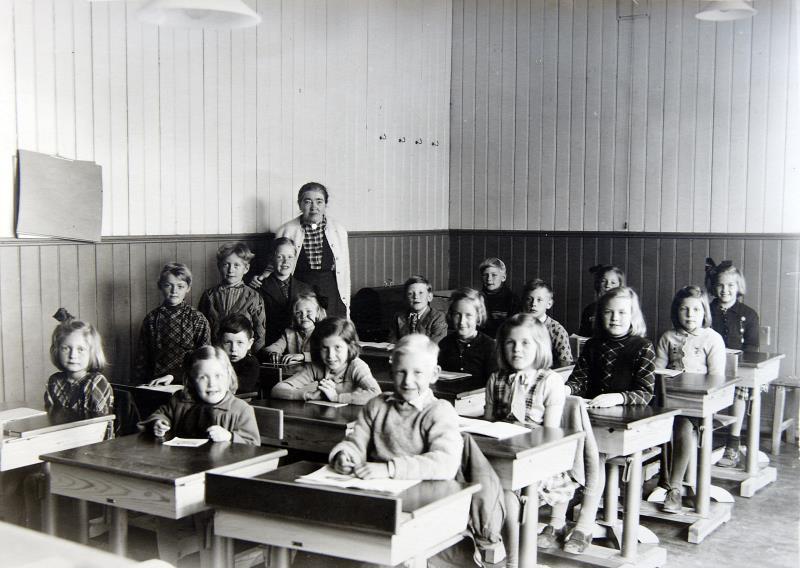 Bild 4828 Possiska skolan, foto: 1934
