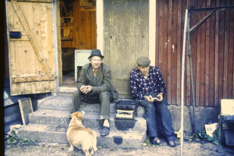 David Blom, foto: 1973 Hellekis Hamn