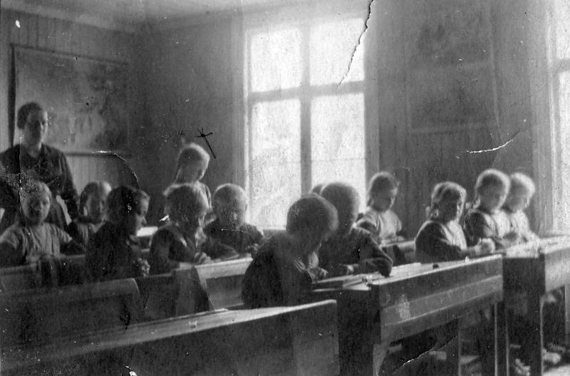 Bild 5447 Possiska skolan, foto: 1920