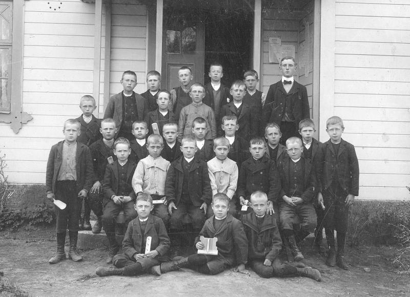 Bild 1006 Medelplana Skola 1907