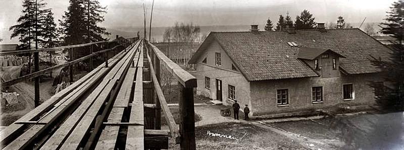 Råbäcks hamn, foto: 1930-talet