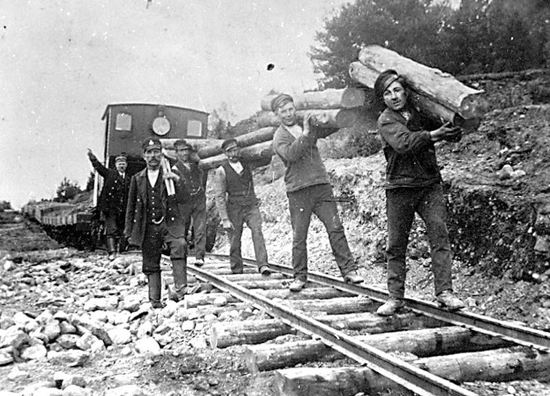 Järnvägsarbetare (Rallare) Gössäter