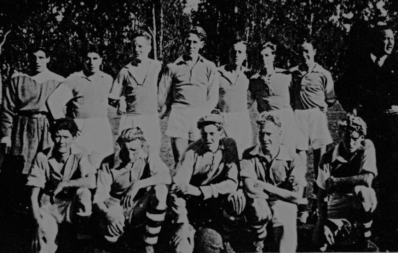 Bild1035 Fotbollslag i Hällekis IF