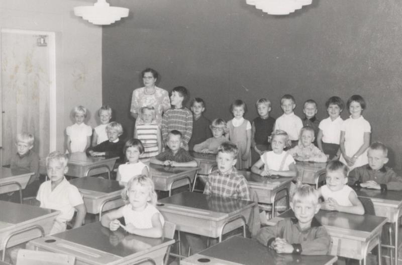 Bild3634 Hönsäters Skola Klass 1 o 2 1959