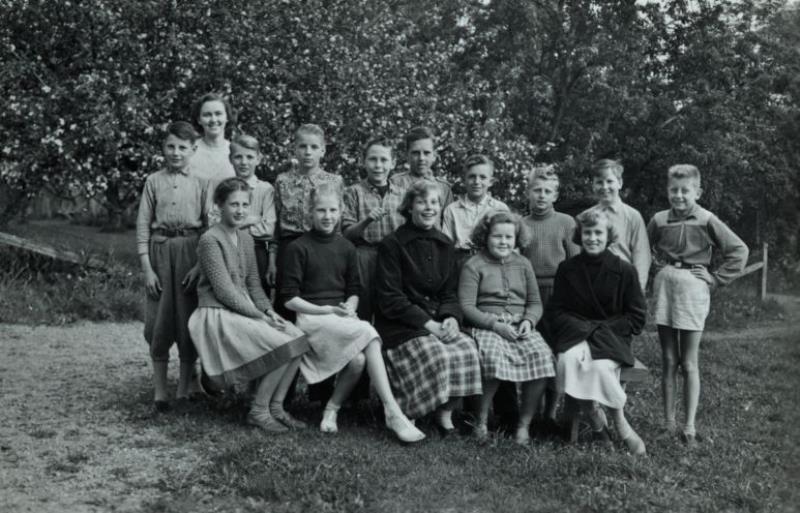 Bild3652 Hönsäter Storskola Klass 1952-53