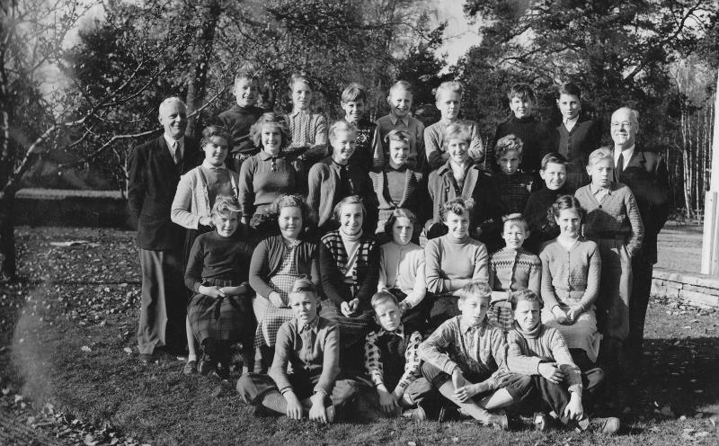 Bild3713 Hönsäter Storskola Klass 7 1955