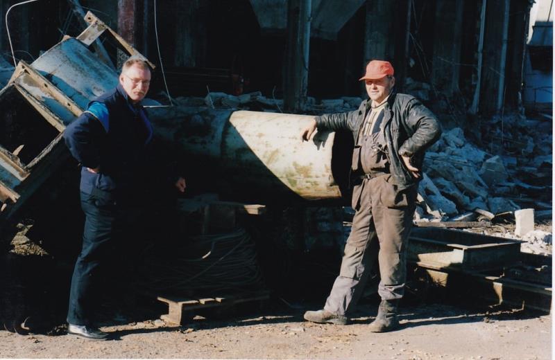 Bild4355 Rivning av Cementfabriken Hällekis