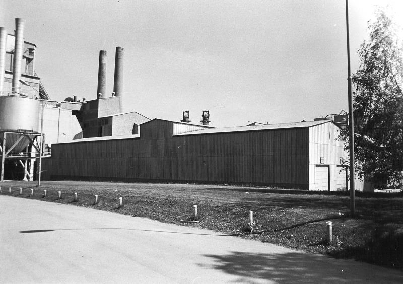 Bild4923 Cementfabriken Cementsilos och utlastning