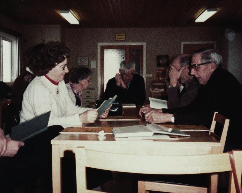 Bild3175 Pensionärer från Hällekis på 1980-talet