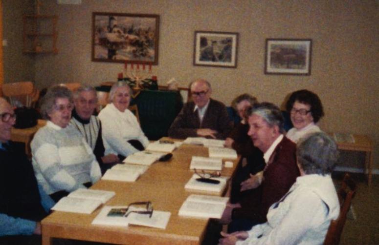 Bild3198 Pensionärer från Hällekis på 1980-talet