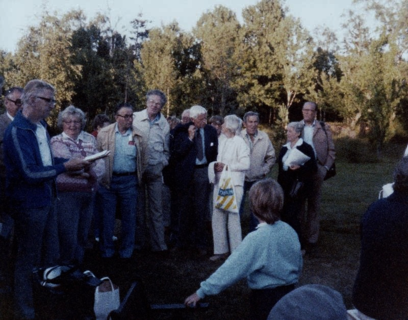 Bild3211 Pensionärer från Hällekis på 1980-talet
