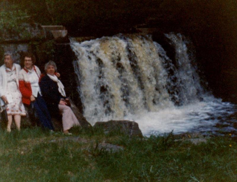 Bild3224 Pensionärer från Hällekis på 1980-talet