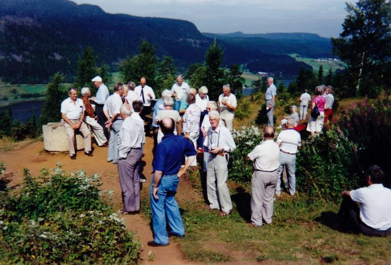 Bild3277 Pensionärer från Hällekis på 1980-talet