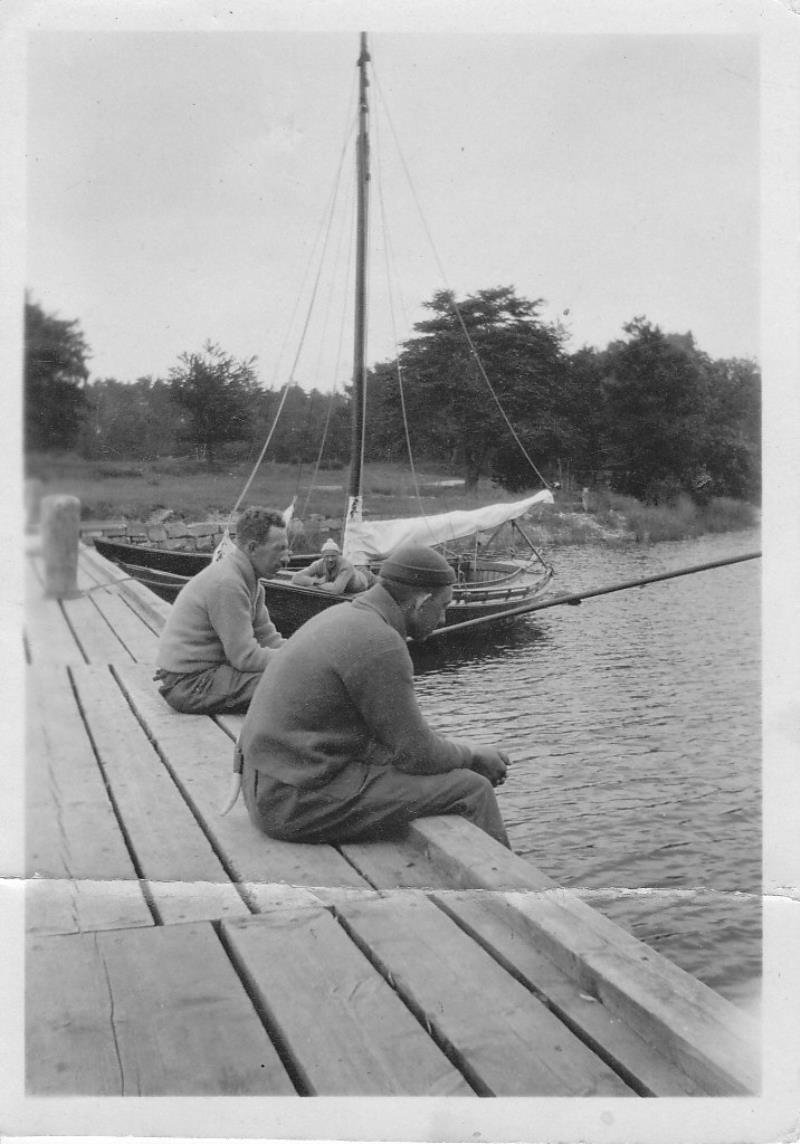 Bild972 Hellekis Hamn taget 1922