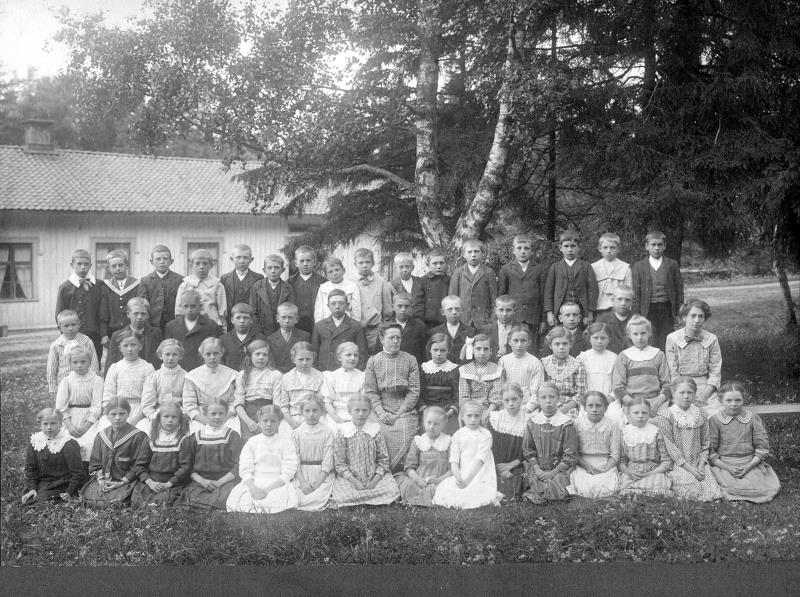 Bild 0375 Possiska Lancasterskolan Hellekis, foto:1910