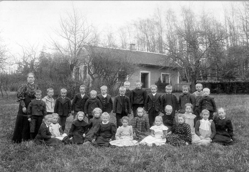 Bild 0380 Possiska Lancasterskolan Hellekis, foto:1907