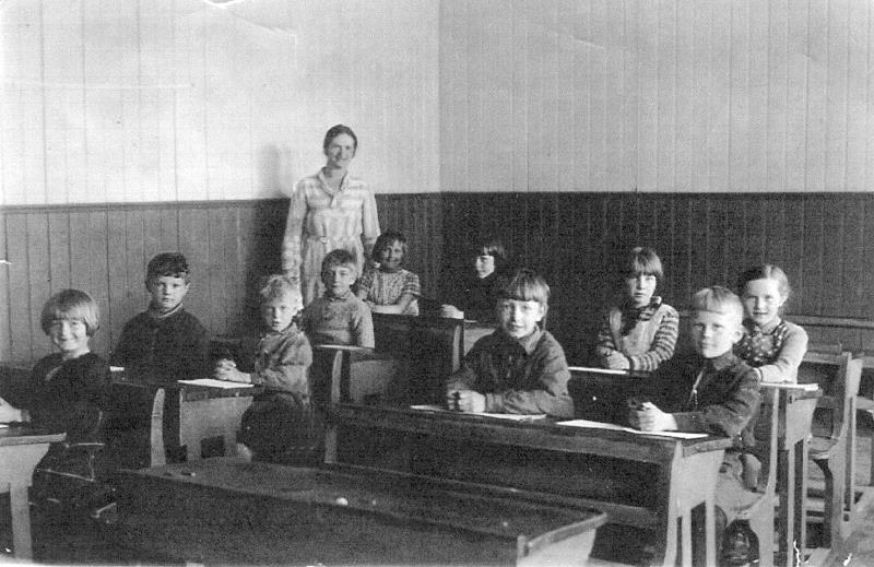 Bild 0570 Possiska Lancasterskolan Hellekis, foto: 1934