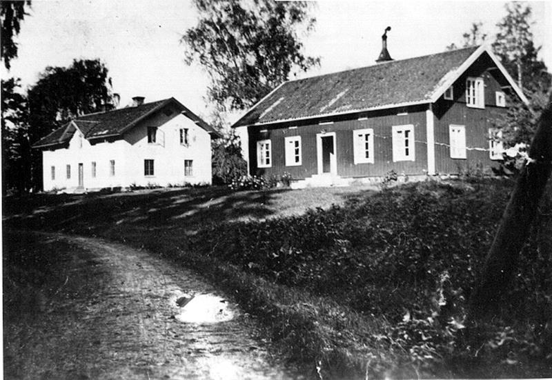 Arbetarbostäder Hellekis hamn, foto: 1930