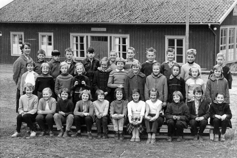 Bild 1500 Possiska Lancasterskolan Hellekis, foto:1957