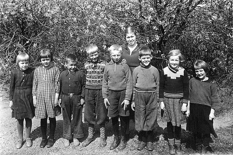 Bild 3212 Annexet - Småskolan Västerplana 1938