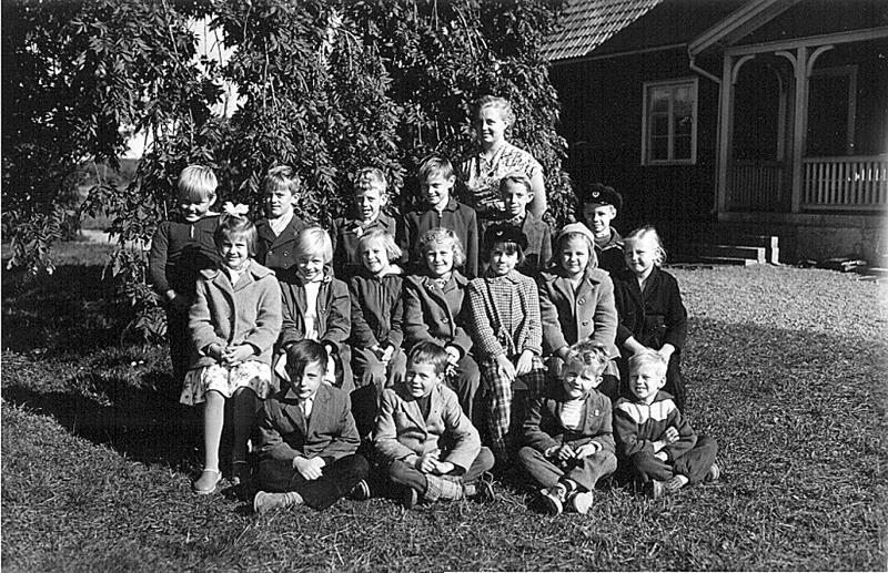 Bild 3223 Annexet - Småskolan Västerplana 1956
