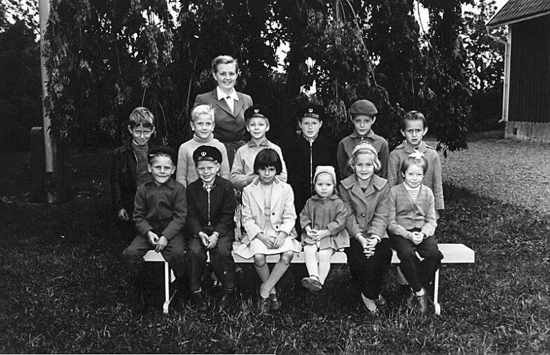 Bild 3429 Annexet - Småskolan Västerplana 1957