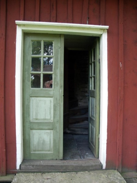 Entré, Eskilssons kopparsmedja. foto: Freddie Wendin 2008