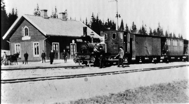 Järnvägen i Gössäter