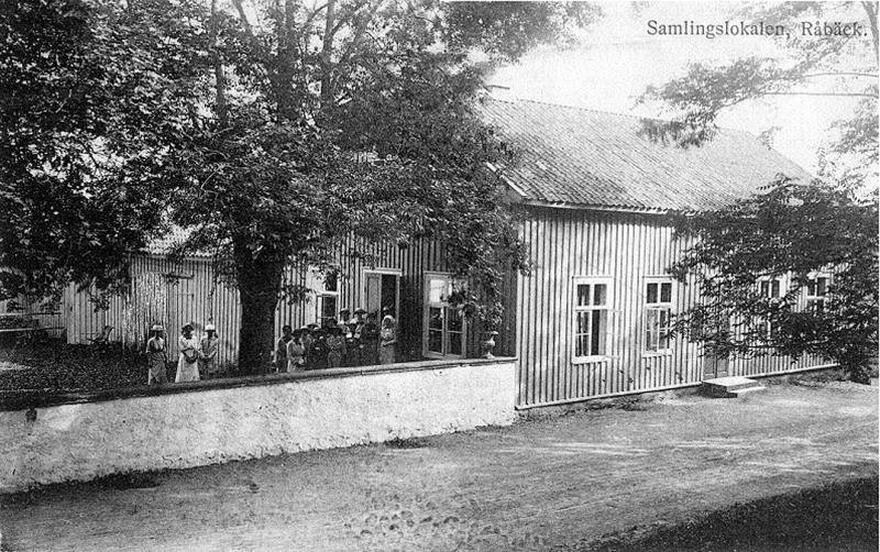 Bild 0663 Råbäcks Slott,Medelplana. Samlingslokalen