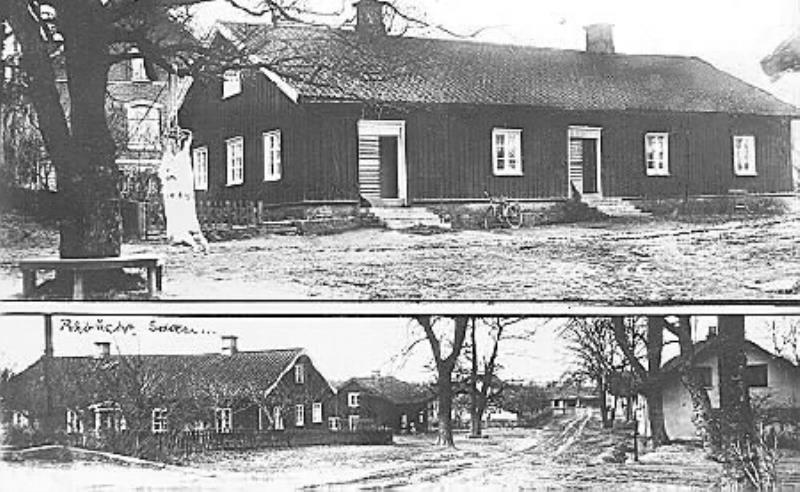 Bild 2121 Råbäcks Slott Medelplana, arbetarbostad, foto: Anders Karlsson 1934