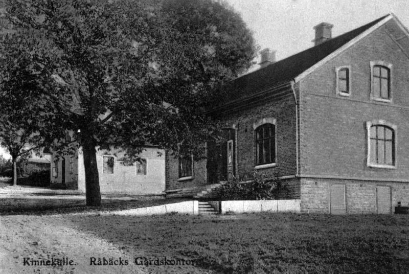 Bild 4098 Råbäcks Slott Medelplana, gårdskontoret
