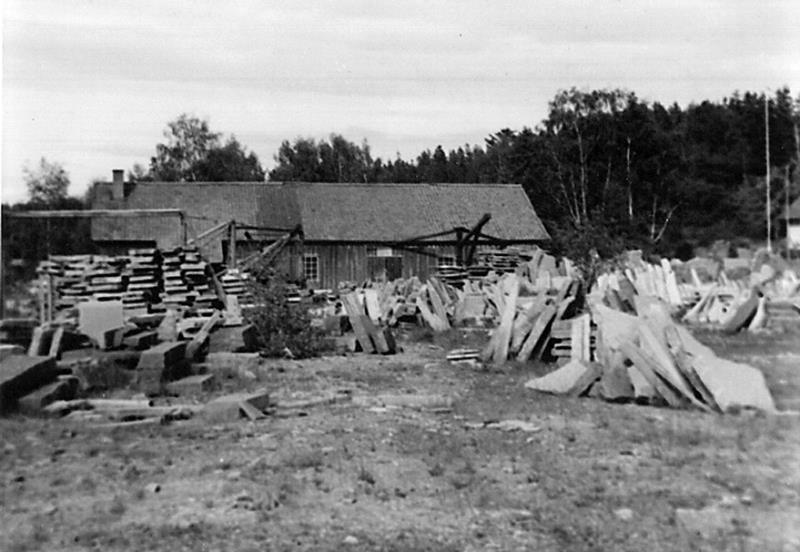 Bild 0126 Råbäcks stenhuggeri 1956