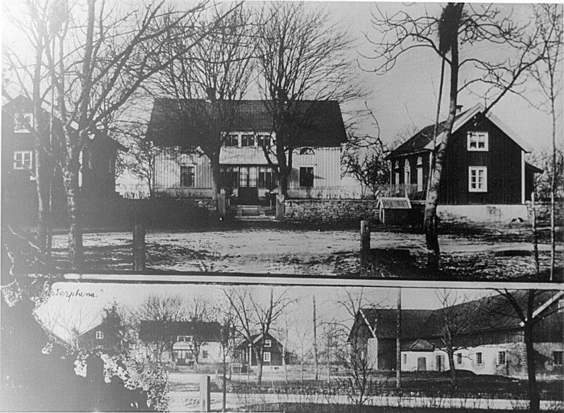 Bild 3227 Stenhuggaregården i Västerplana Foto Anders Karlsson År 1934