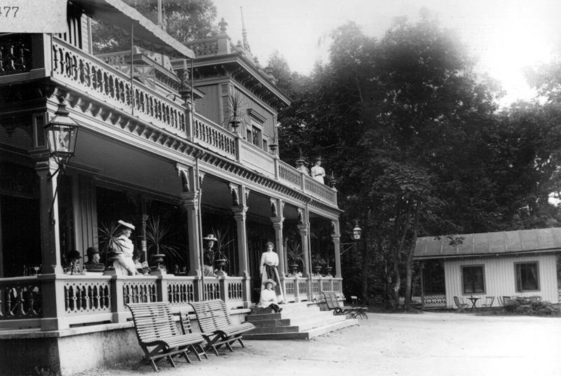 Bild 0003 Turisthotellet Råbäck, foto: 1910