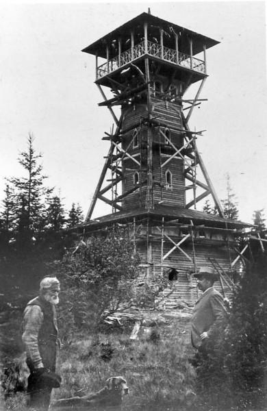 Bild 23123 Utsiktstornet Kinnekulle Medelplana 1892