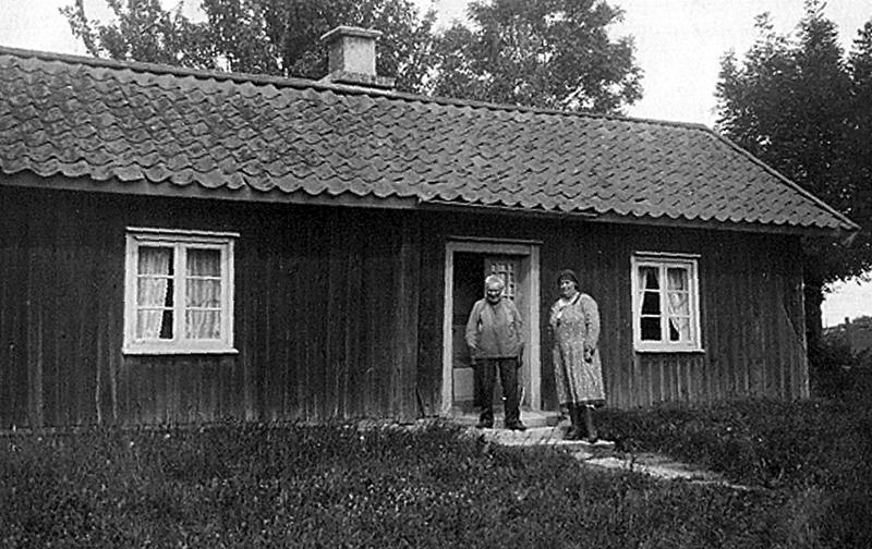 Bild 3282 Torlagården, torp under i Västerplana Kinnekulle