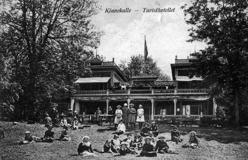 Bild 4209 Turisthotellet Råbäck Vykort 1924