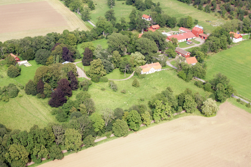 Hjelmsäters Egendom Medelplana. Kinnekulle, foto: Freddie Wendin 2009