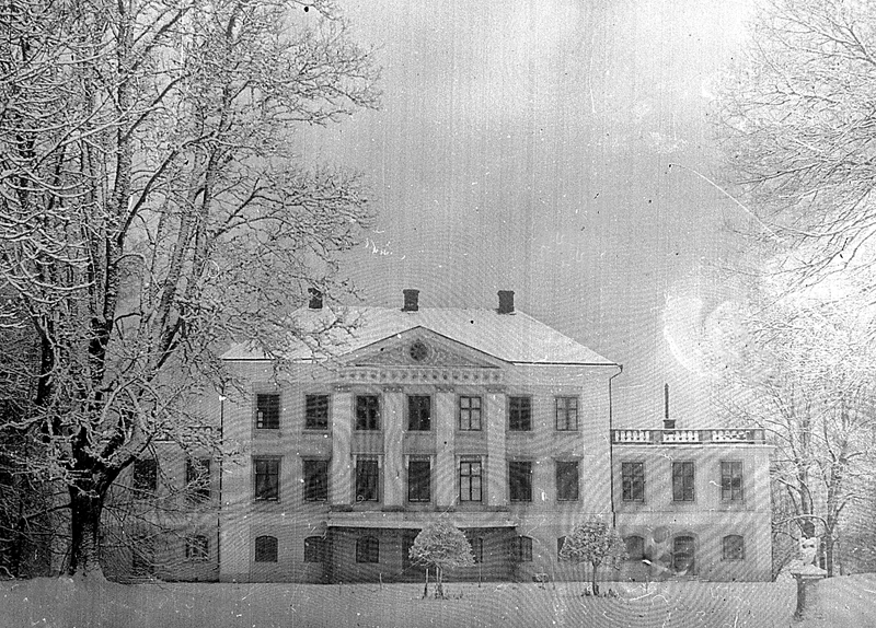 Bild 1883 Hellekis säteri Medelplana