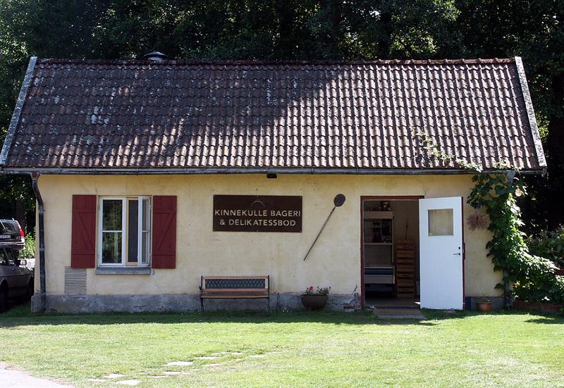 Falkängen i Hällekis Kinnekulle Bageri och Delikatessbod foto: Freddie Wendin