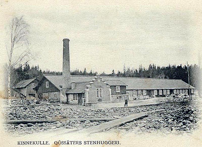 Bild 2272 Gössäters stenhuggeri, foto 1904