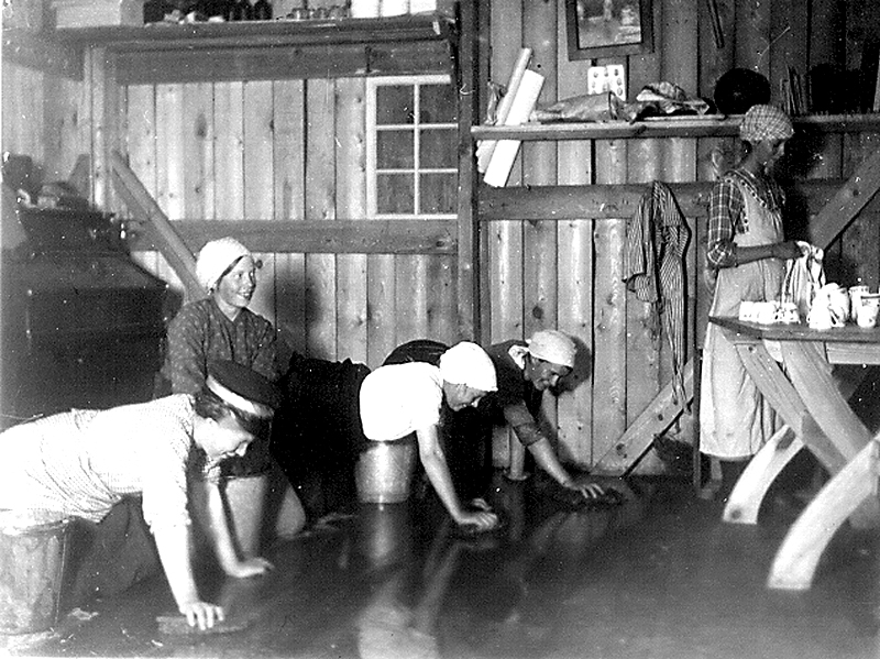 Bild 0159 Medelplanas ungdomsstuga, Foto 1917